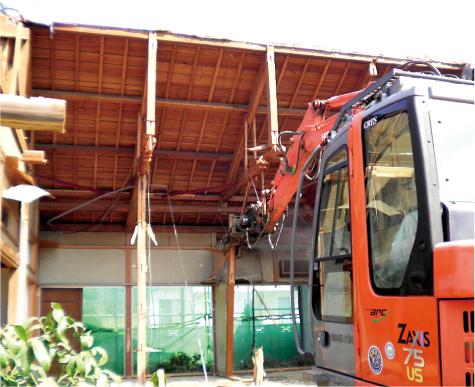 藤枝市 W造住宅解体工事