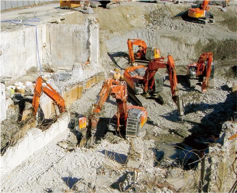 掛川市 S造病院解体工事