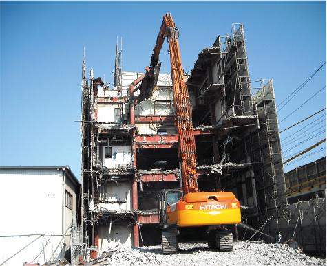静岡市S造ビル解体工事